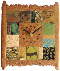 Tiled Clock # 37