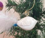 Bird Ornament (White)