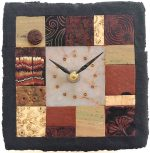 Tiled Clock # 35